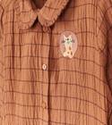 Chemises - Chemise brune rayée fred + ginger
