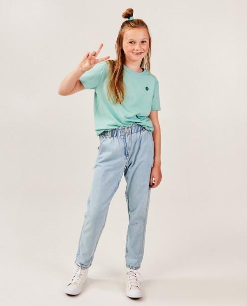 Lichtblauwe jeans - met elastische taille - JBC