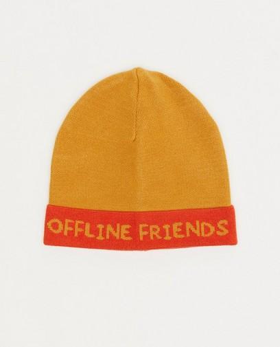 Bonnet unisex jaune moutarde fred + ginger