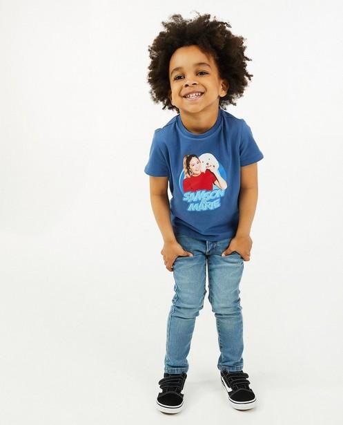 T-shirt à imprimé Samson & Marie - bleu - Fred & Samson