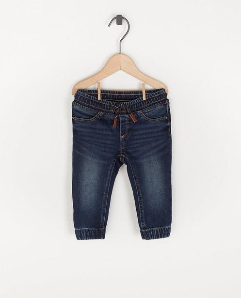 Pantalon en sweat denim unisexe - avec du stretch - Cuddles and Smiles