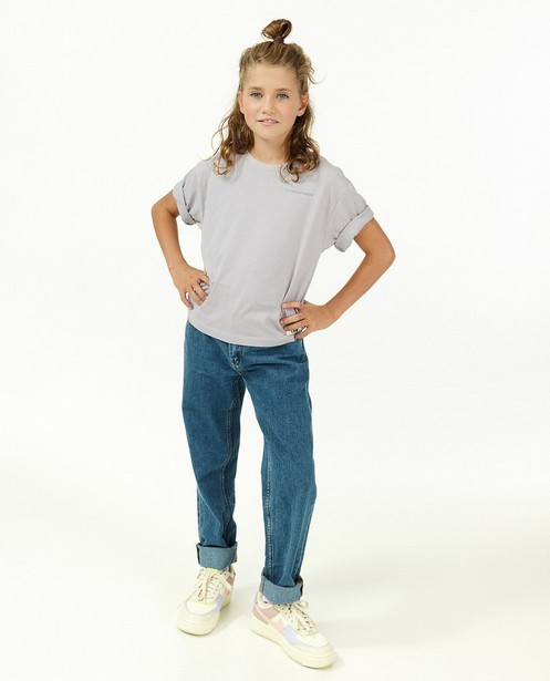 Jeans straight bleu Lene - avec du stretch - Fish & Chips