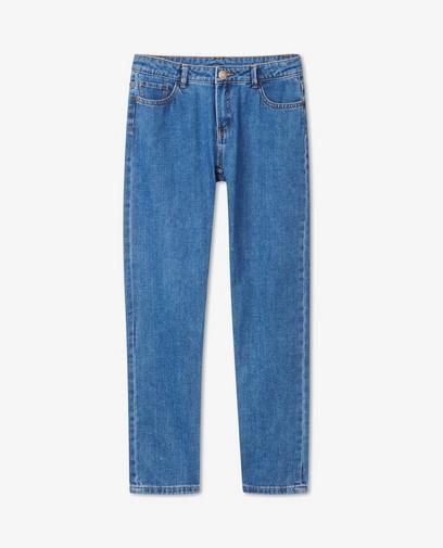 Jeans straight bleu Lene