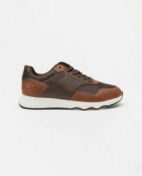 Bruine sneakers Sprox, maat 40-45 - met patches - Sprox