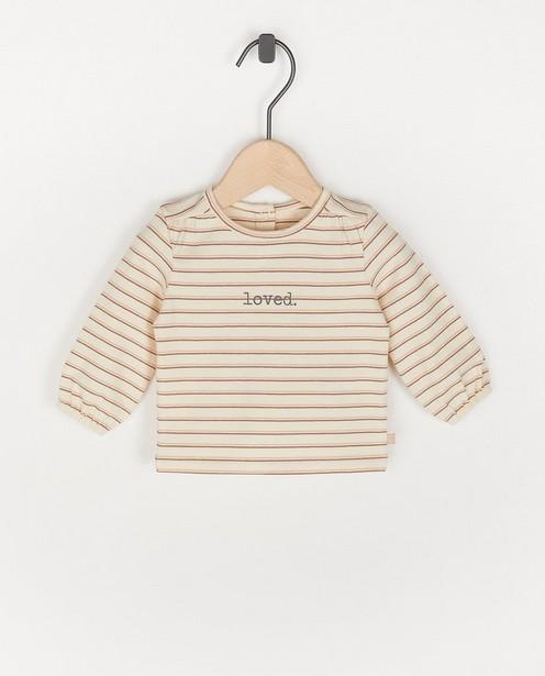 T-shirt rayé - loved - Newborn