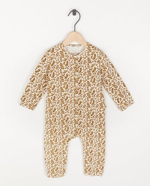 Unisex pyjamaatje met print - allover - Cuddles and Smiles