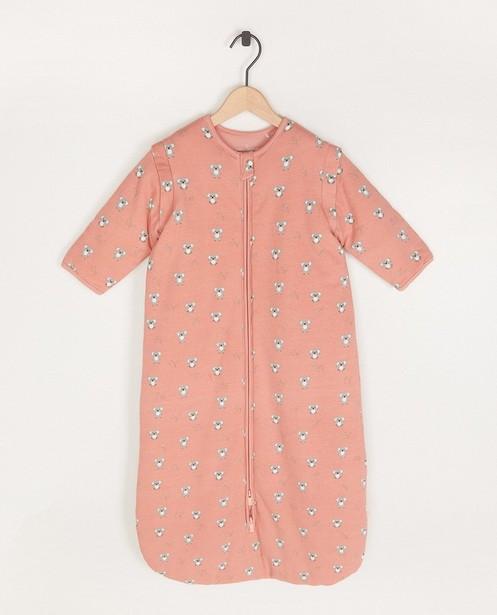 Sac de couchage rose à imprimé - imprimé intégral - Cuddles and Smiles