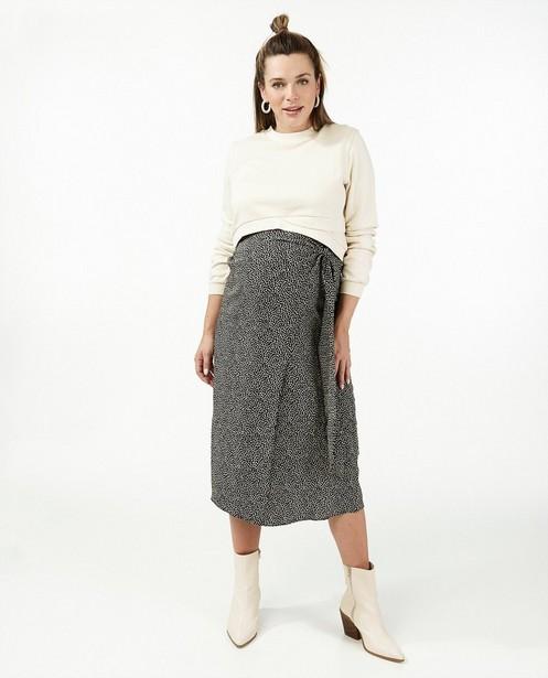 Cropped beige sweater JoliRonde - zwangerschap - Joli Ronde