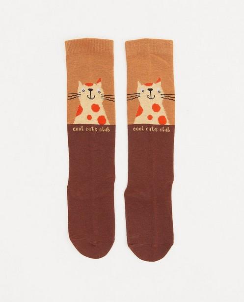 Kousen met print fred + ginger - katje - Fred + Ginger