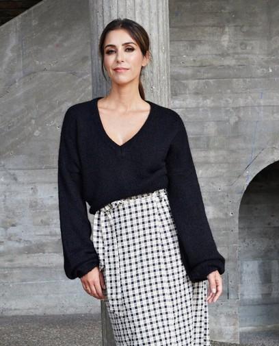 Zwarte trui Kim Van Oncen