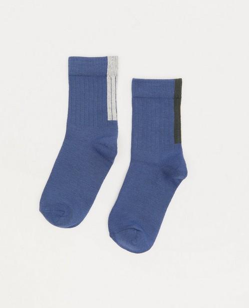 Chaussettes bleues Hampton Bays - côtelées - Hampton Bays