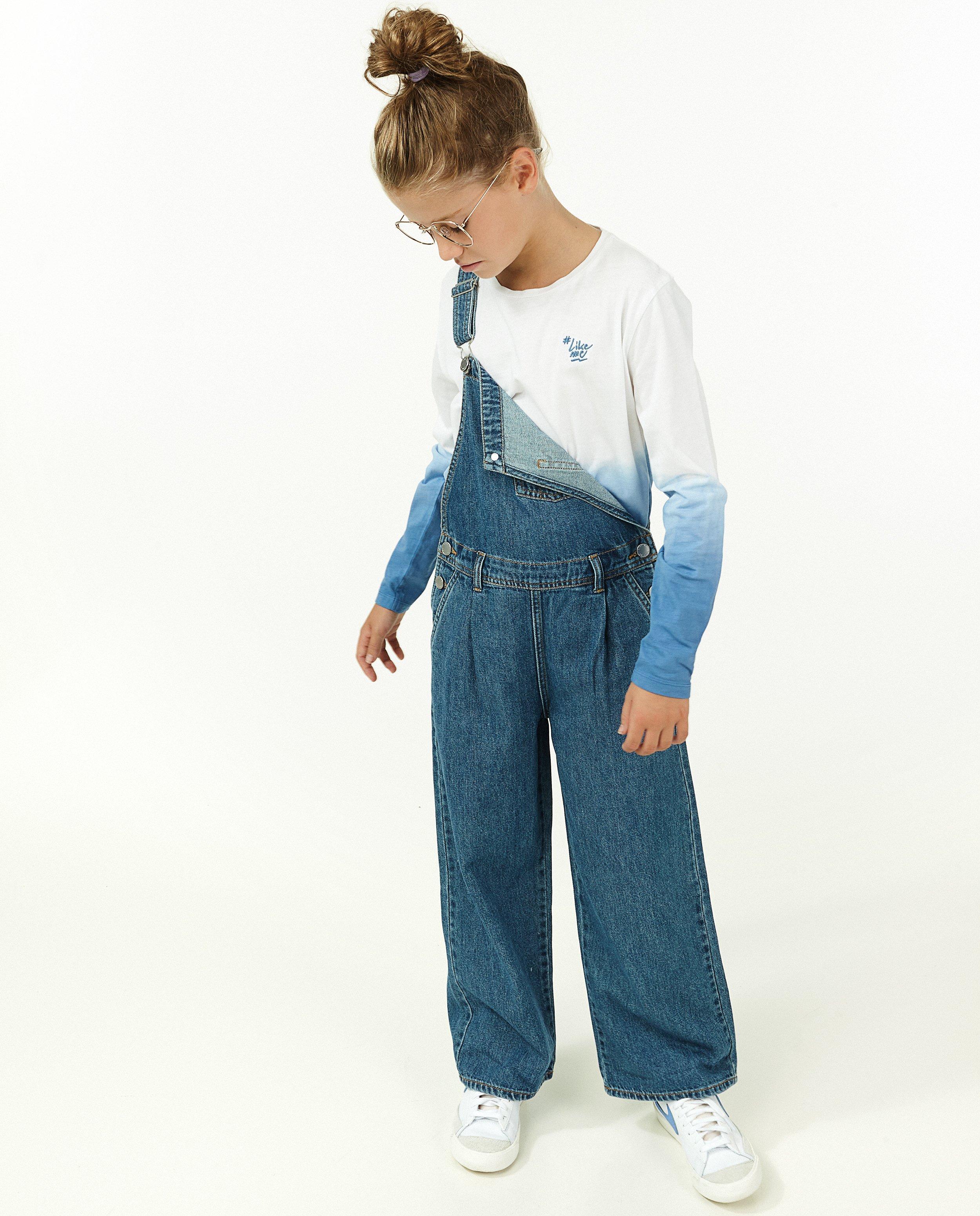 T-shirt à manches longues en coton bio #LikeMe - avec un dégradé - Like Me