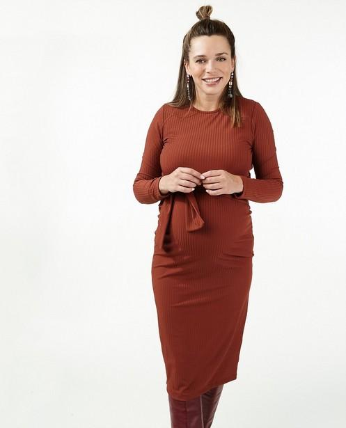 Rode jurk Jolironde - lang - Joli Ronde