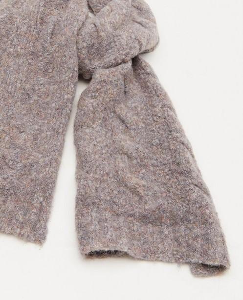 Breigoed - Sjaal met kabelpatroon Pieces