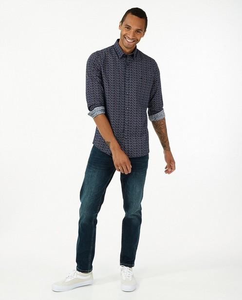 Jeans modern fit bleu Jan Lerros - avec du stretch - Lerros