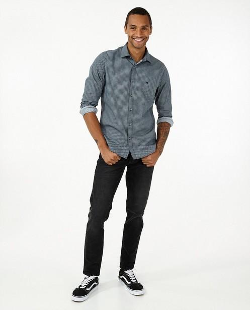 Jeans modern fit gris Jan Lerros - avec du stretch - Lerros