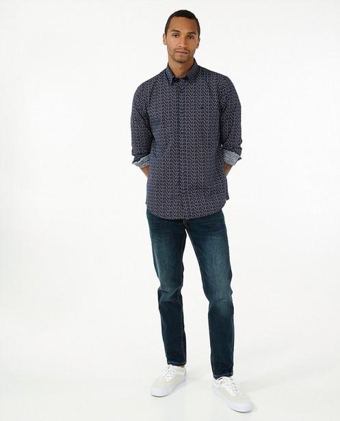 Chemise bleue à imprimé Lerros - avec imprimé intégral - Lerros