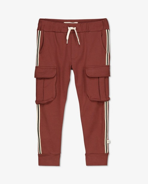 Pantalon cargo rouge Your Wishes - avec du stretch - Your Wishes