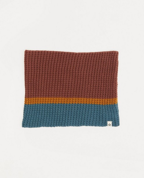 Snood en coton bio Your Wishes - en tricot - Your Wishes