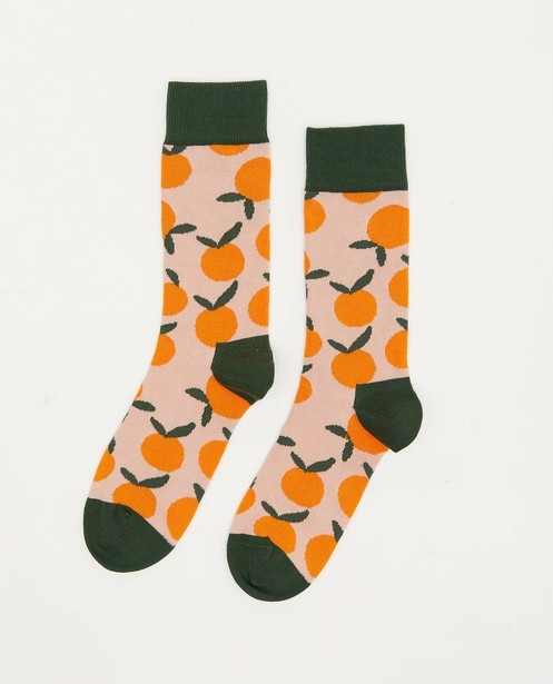 Biokatoenen kousen DillySocks, 36-40 - met print - Dilly Socks