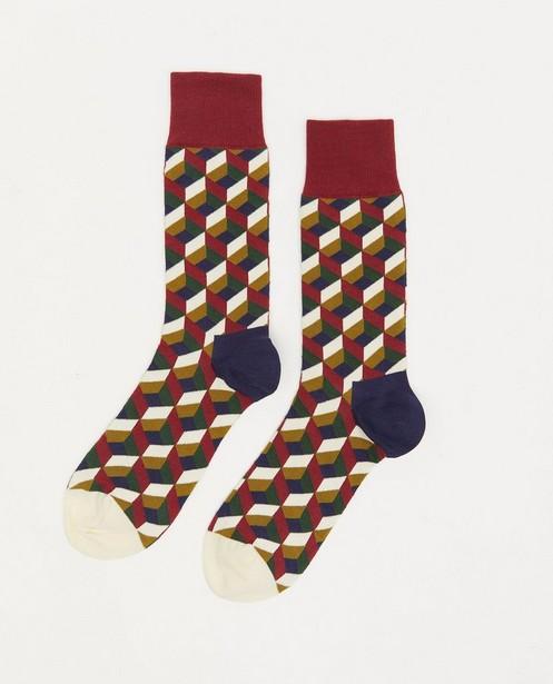 Chaussettes en coton bio DillySocks, 41-46 - à imprimé - Dilly Socks
