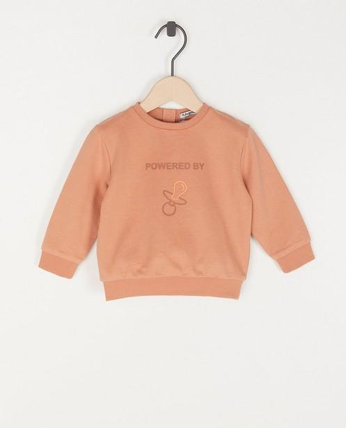 Sweater met print unisex - stretch - Familystories