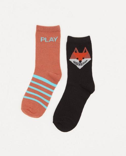 Lot de 2 paires de chaussettes - avec du stretch - JBC