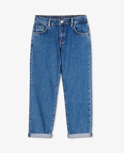 100% gerecycleerde jeans in blauw I AM