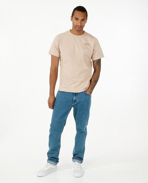 Jeans 100% recyclé bleu I AM - straight loose fit - I AM