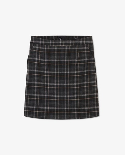 Zwarte rok met ruiten Sora