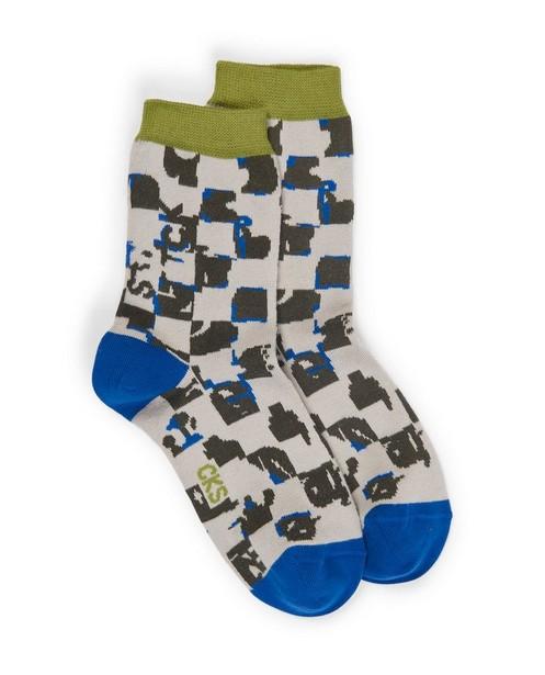 Chaussettes avec imprimé CKS - avec imprimé intégral - CKS