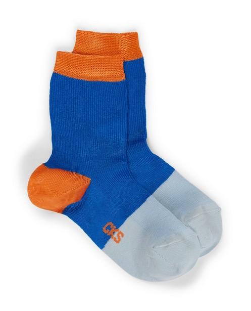 Kousen met colorblock CKS - In blauw - CKS