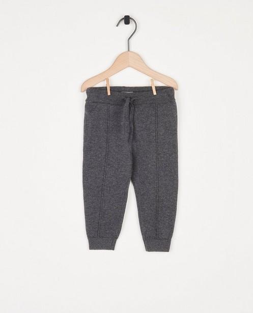 Pantalon unisexe en fin tricot - ceinture à nouer - Cuddles and Smiles
