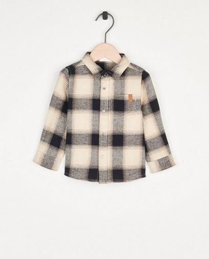Chemise à carreaux pour bébés