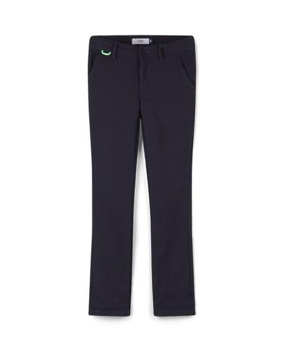 Pantalon bleu à rayures CKS