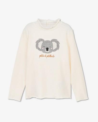 T-shirt à manches longues avec un imprimé de koala
