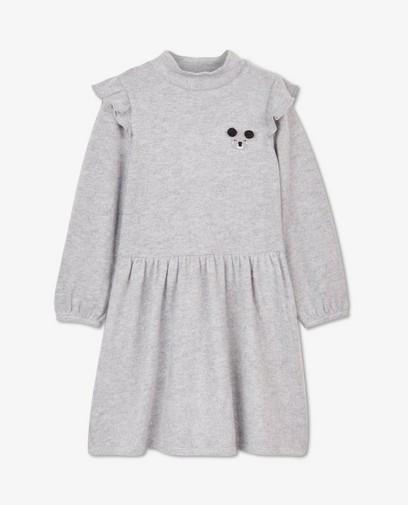 Grijze jurk met koalaprint