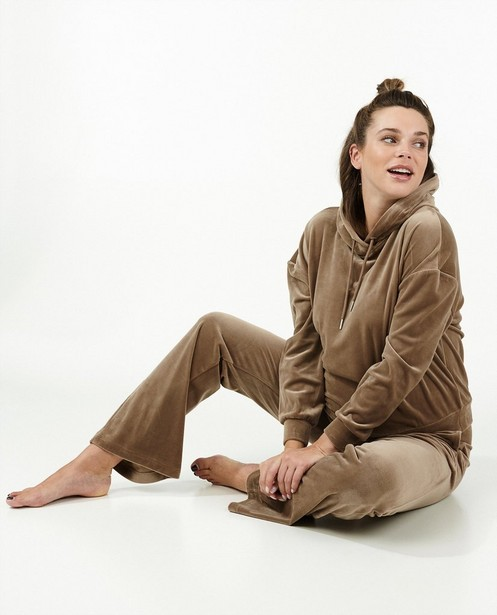 Jogger brun JoliRonde - avec du stretch - Joli Ronde