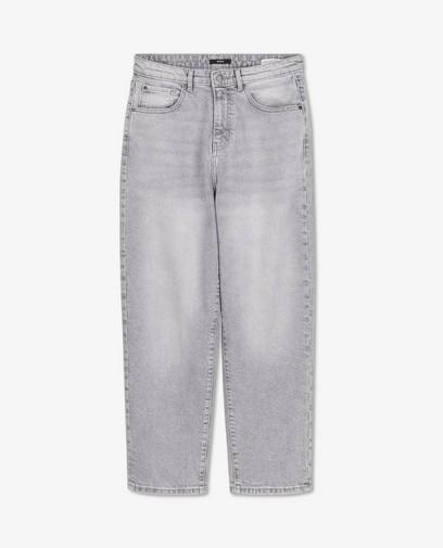 Grijze 70's straight jeans Kim Sora