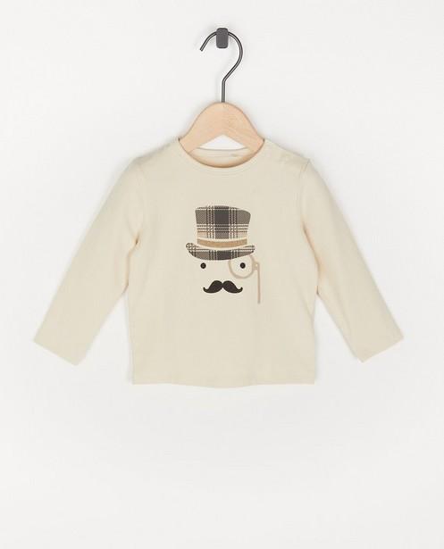 T-shirt à manches longues en coton bio à imprimé - avec du stretch - Cuddles and Smiles