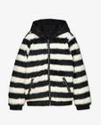 Manteau réversible noir - court - Looxs