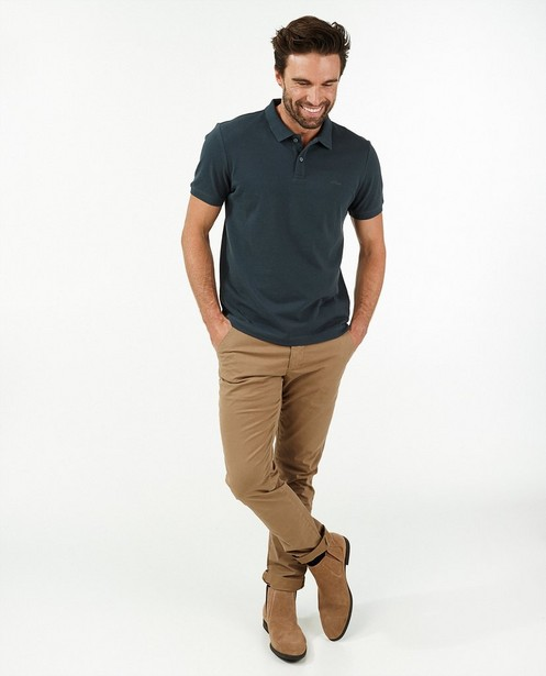 Donkerblauwe polo s.Oliver - stretch - S. Oliver