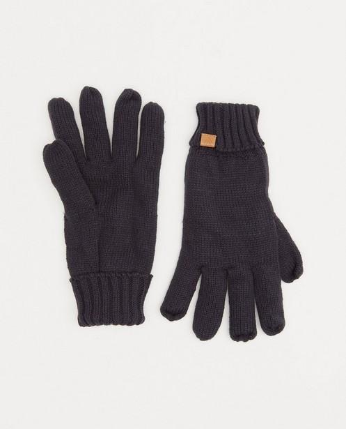 Donkerblauwe handschoenen - met fleece - JBC
