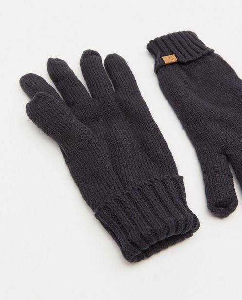 Breigoed - Donkerblauwe handschoenen