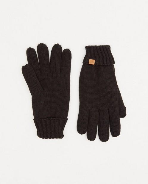 Zwarte handschoenen - met fleece - JBC