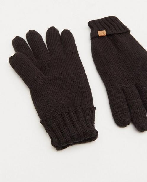 Breigoed - Zwarte handschoenen