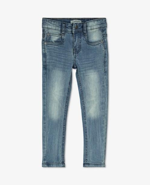 Jeans bleu Koko Noko - effet délavé - Koko Noko