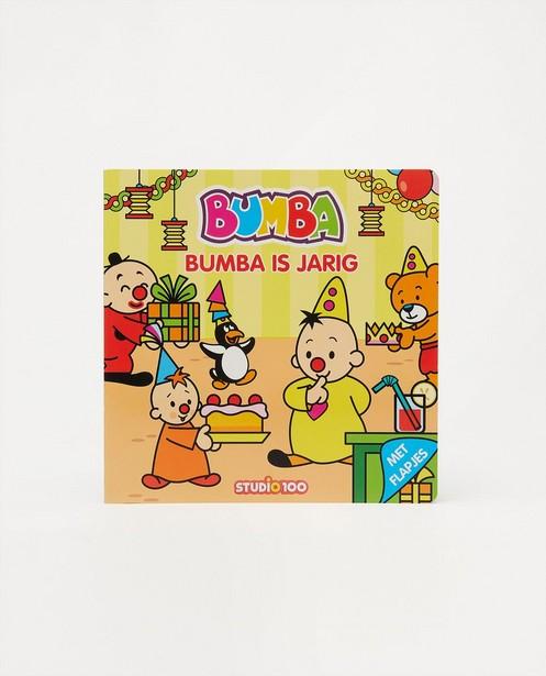 Livre à rabats Bumba - Bumba is jarig - bleu - Bumba
