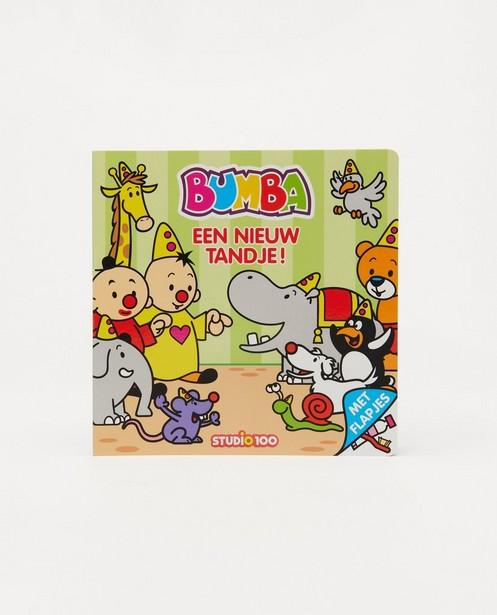 Livre à rabats Bumba - Een nieuw tandje - bleu - Bumba