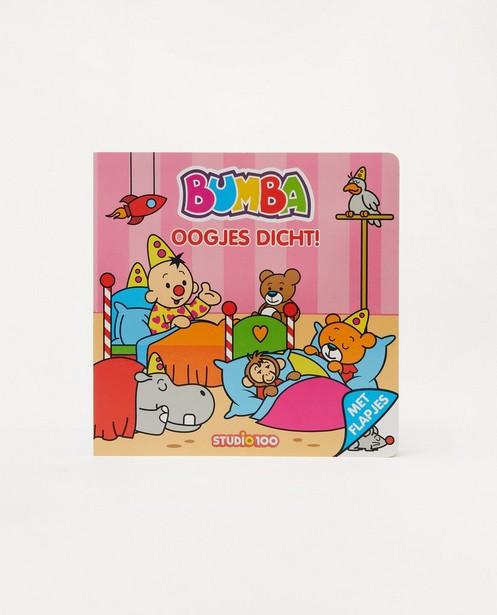 Livre de lecture Biumba - Ogen dicht - bleu - Bumba